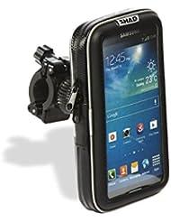 "SHAD X0SG60H SMARTPHONE 5.5"" Handlebar Bolsa Blanda para Motocicleta, Color Negro"