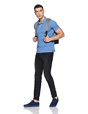 Arrow Sport Men's Solid Regular Fit T-Shirt