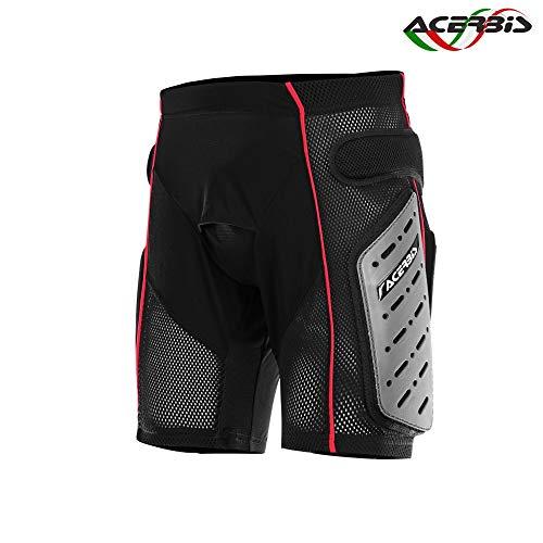 Acerbis 0017768.319.064 Pantaloncini Freemoto 2 M, Nero/Grigio