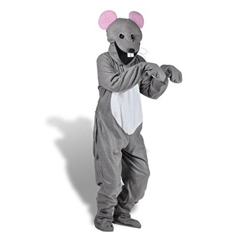 �m Tierkostüm Spaß Costume Verkleidung Mäuse M-L Passend für Erwachsene bis zu 185 cm (Spaß Aktivitäten Für Kinder Für Halloween)
