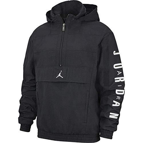Nike M J Wings Windwear Jacke für Herren XL Schwarz