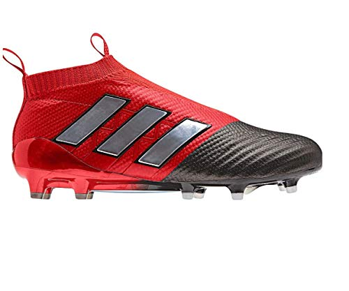 new style f7824 b4dcc adidas Ace 17+ Pure Control FG AG Enfants - Crampons de Foot - Rouge