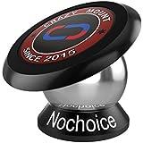 Nochoice® Soporte Magnético Universal de Soporte Auto Car Mount Metálico de 360° Rotación para IPHONE SAMSUNG HUAWEI teléfono inteligente Tablet etc(42 Black)