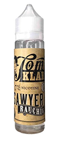 Tom Klark Premium E-Liquid, Sawyer RAUCHIG, 60 ml