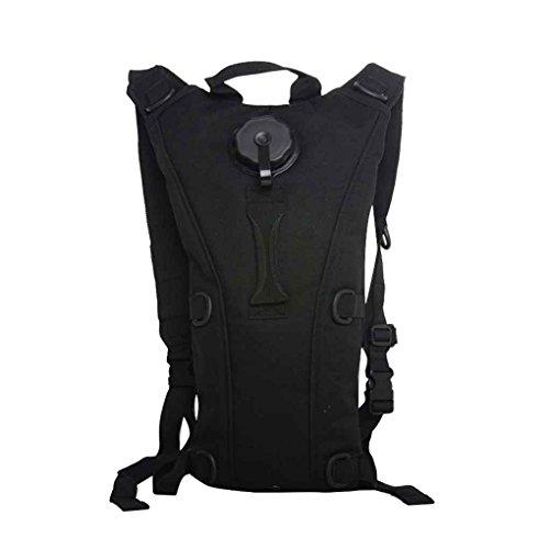 3L Tactical Rucksack Wassertasche Hydration Flasche Beutel Tasche f¨¹r Camping Wandern Schwarz