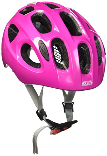 Abus Youn-I Fahrradhelm, Sparkling pink, 52-57 cm