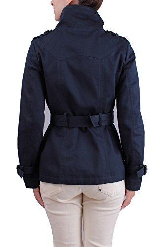 ZELIA - F0004-D - Trench - Manches Longues - Femme Marine
