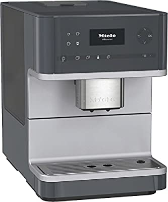 Miele CM6110Grain to Cup Coffee Machine Aromatic System OneTouch and OneTouch for Two Cups and Automatic Rinse Function Cleaning Programme