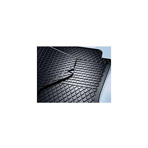 Preisvergleich Produktbild Original VW Touareg 7L Gummi Fußmatten 2-teilig vorn Gummimatten Allwetter *** Drehknebel (oval) ***
