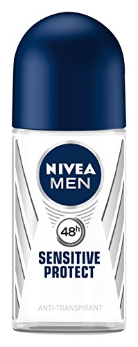 Nivea Men Sensitive Protect Deo Roll-on, Antitranspirant, 3er Pack (3 x 50 ml)