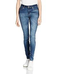 PIECES Pcfive Delly Jeans Dbld/noos, Mujer