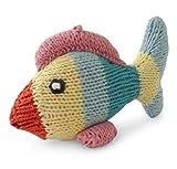 Hand-Knitted Fisch Plüschtier aus Bio-Baumwolle