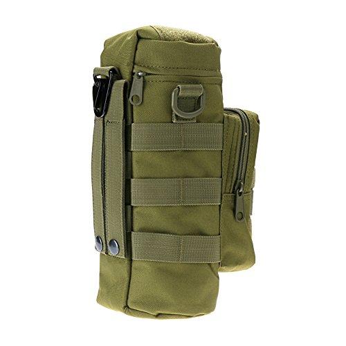 Generic Outdoor Sport Wasserflasche Wasserkessel Tasche - Grün, Small pocket size(L X W X H): 16*3*3cm