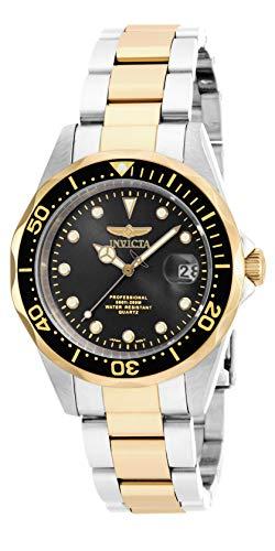 Invicta 17049 Pro Diver Reloj Unisex acero inoxidable Cuarzo Esfera negro