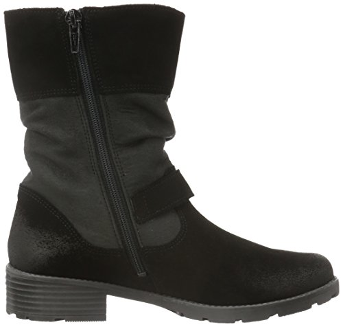 Superfit Heel, Bottines à doublure froide fille Noir - Schwarz (Schwarz KOMBI 02)