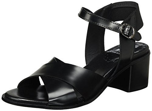 Lilimill Airin, Sandales  Bout ouvert femme Schwarz (Nero)