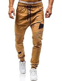BOLF – Pantalons – Jogging pantalons – Sport – Training – Baggy – Motif – Homme ATHLETIC 0829