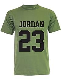 PALLAS Men's Michael Jordan Basketball Sport T-Shirt -PA158