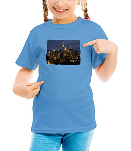 billion-group-frankfurt-germany-city-collection-girls-classic-crew-neck-t-shirt-blau-small