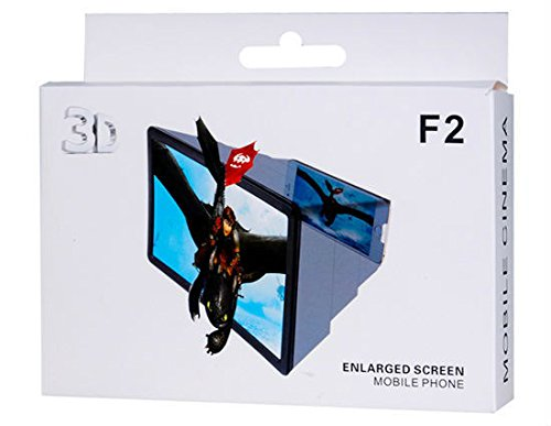 Smiles Creation 3D Screen Magnifying Enlarger 3D Video Screen amplifier Eyes Protection Enlarged Expander For Any Mobile  available at amazon for Rs.175