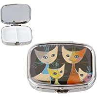 UnicocoPillendose Tablettenbox Pillenbox Tablettendose Medikamentenbox Katze Form Ultra hohe Qualität preisvergleich bei billige-tabletten.eu