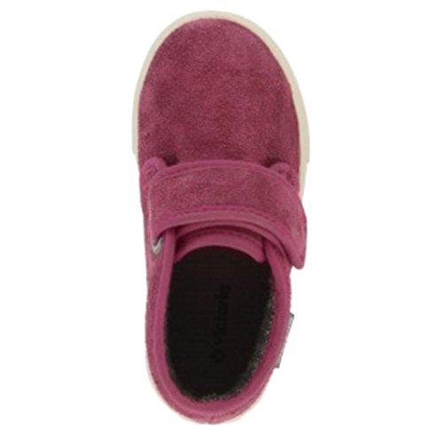 VICTORIA Stiefel mit Klettverschluss 025053 Kinder Schuhe Johannisbeere