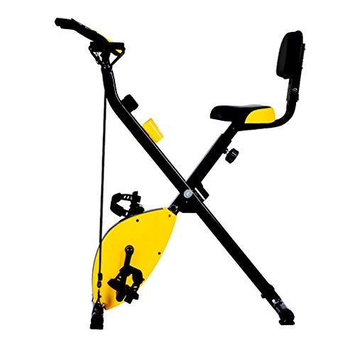 Snow Yang Klappbarer Magnetischer Aufrechter Fitness-Fahrrad-Indoor-üBungsfahrrad-Lastlager 353lb-Portable Workout-StationäRes Fahrrad-Liegerad Heimtrainer -