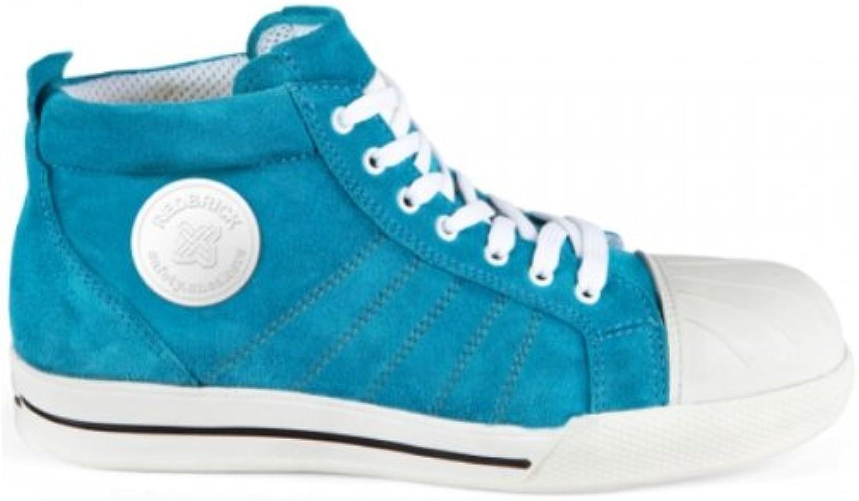 2work4 Sneaker Blue S1P Sicherheitshalbstiefel 37 Blau