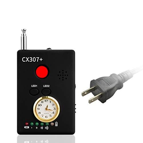 BIlinli Anti-Spion GPS Signal Bug Detector Versteckte Kameraobjektiv Wireless RF GSM-Finder Kamera Detektoren CX307 + US/EU-Stecker -