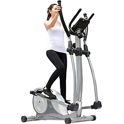 CaoDquan Lliptical Machine Elliptical Training Fitness Bike Home Office Fitness Exercise Machine Provides A Shock-free Smooth Flow Workout For Your Full Body Workout Magnetic Elliptical Trainer by CaoDquan