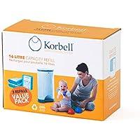 Korbell - Bolsas de basura para pañales
