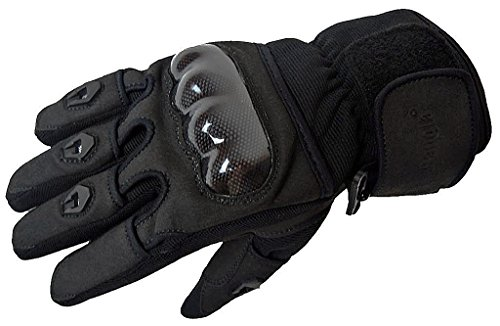 5000 Leichter Sommer Motorrad-Handschuh Schwarz S-XXL