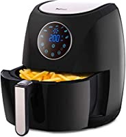 Pro Breeze Air Fryer 4.2L 1400W With Digital Display Timer And Fully Adjustable Temperature Control For Health