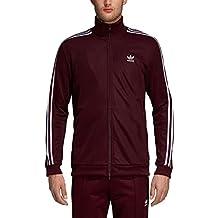 low priced 1ce0c 2cd1a adidas Beckenbauer TT, Giacca Tuta Uomo, Maroon, M