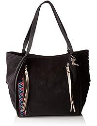 Lollipops Billy Shopper, Womens Shoulder Bag, Black, 13x26x38 cm (W x H L) Lollipops