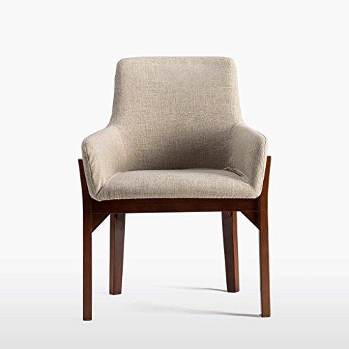 Fauteuils Chaise en bois massif à manger Chaise en bois créative Chaise à la mode Chaise de bureau Chaise en bois de loisirs Fauteuils et Chaises (Couleur : A)