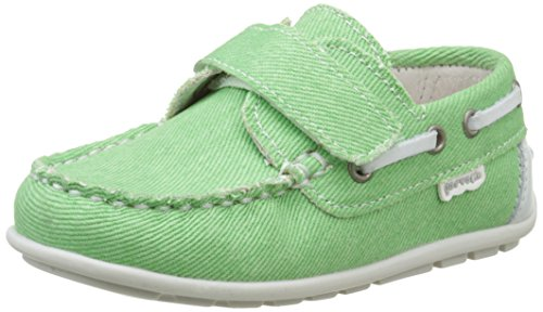 Garvalin Denia, Chaussures Bateau Garçon Vert (K Menta Denim)