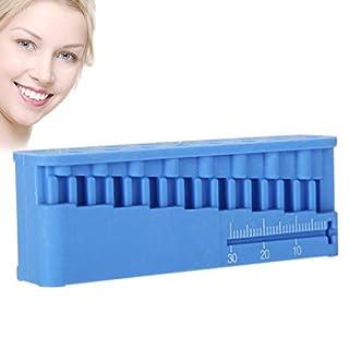 JUSTDOLIFE Dental Instrument Autoklavierbares Endo Block Dental Lineal Endodontie Werkzeug