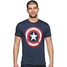 Captain America by Free Authority Men's T-Shirt