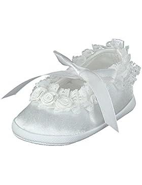Omnia-Baby Pantau.eu Taufschuhe Babyschuhe Lauflernschuhe Kinderschuhe Krabbelschuhe, Festliche Baby Schuhe, Satin...