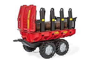 rolly toys 123254 RollyToys - Andador de Juguete para niños de 3 a 10 años, con Troncos de Madera de plástico, función de volcado, Color Rojo y Negro