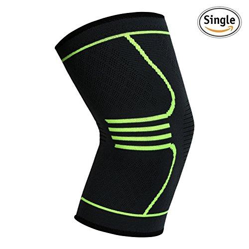 UNI FAM Knee Brace Manga de compresión de rodilla Soporte para correr