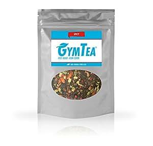Fitness-Tee 100% natürlich – GymTea Spicy 100g – Grüner-Tee mit Chili (scharf) – Stoffwechsel-unterstützend & Abnehm-Tee ergänzend zu Sport und ausgewogener Ernährung / Diät