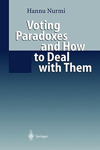 VOTING PARADOXES AND HOW TO DEAL WITH THEM par Hannu Nurmi
