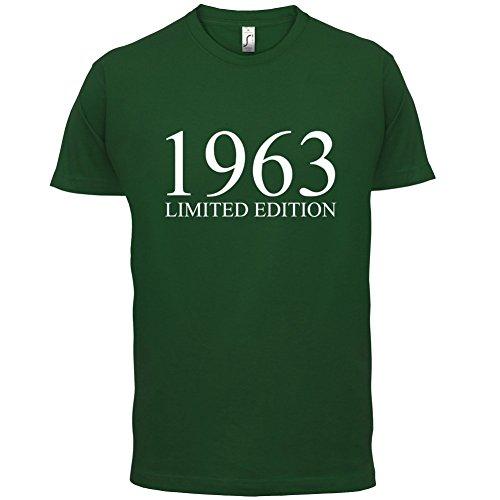 1963 Limierte Auflage / Limited Edition - 54. Geburtstag - Herren T-Shirt - 13 Farben Flaschengrün