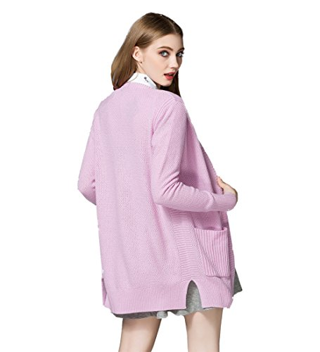 Coco Fashion -  Cardigan  - Donna Pink