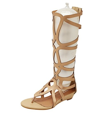 Zoom IMG-1 lvrao donna sandali gladiatore zeppe