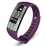 ARAYACY Fitness Tracker Frequenza Cardiaca - Braccialetto Bluetooth Smart Heart Rate IP67 Nuoto -...