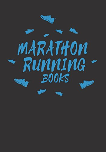Marathon Running Books: Race Keepsake Notebook Diary por Dartan Creations