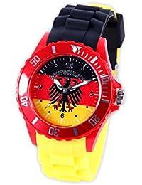 Montre bracelet silicone Viper couleur drapeau modèle sport , choisir:UR-DE1 Allemagne